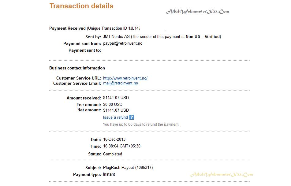plugrush payment proof jan 2014